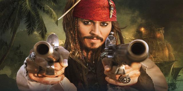 جک اسپارو در دزدان دریایی ؟